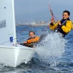 Claudia Soricelli e Camilla Marino in regata
